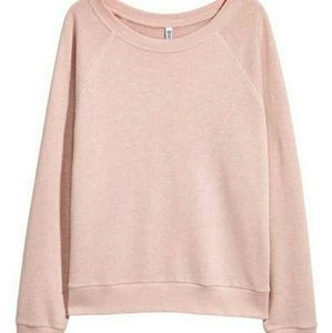 Blush crewneck sweatshirt